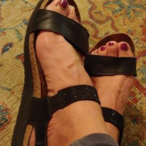 Naot leather sandals sz.38